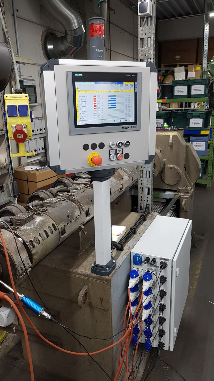 Maag Extrusion Line Controller