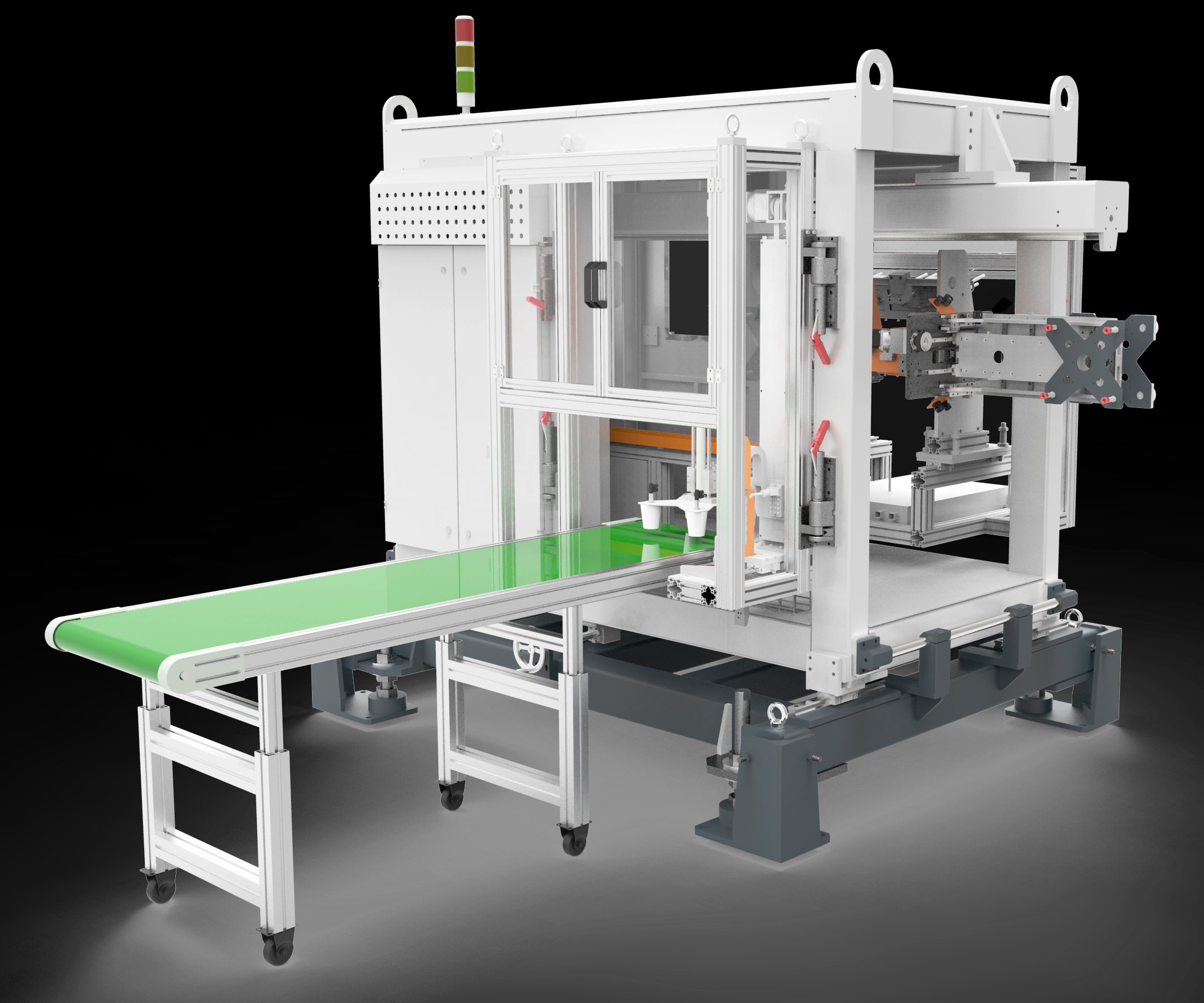 Well-Lih in-mold labeling system