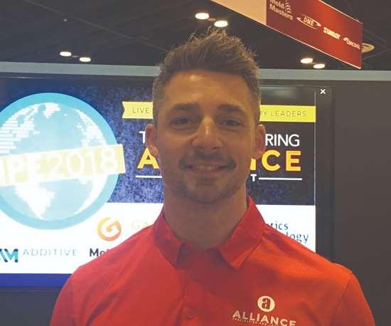 Tony Demakis of Alliance Specialties an Laser Sales