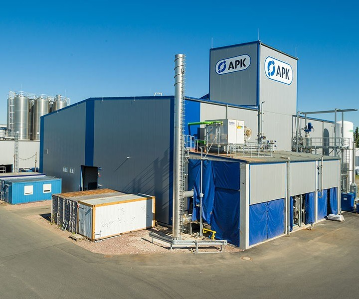 APK Newcycling plant Merseburg, Germany