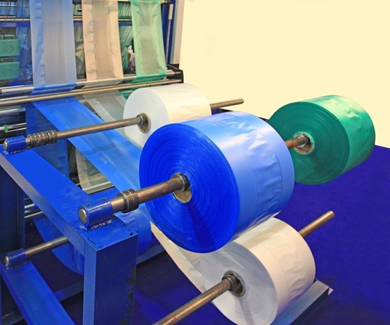 extruded plastic converter films