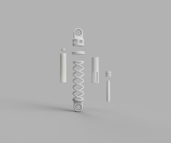 Covestro 3D printed shock absorber