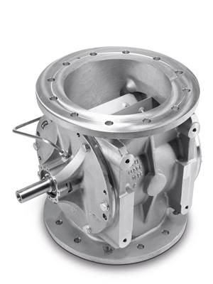 Coperion rotary valve