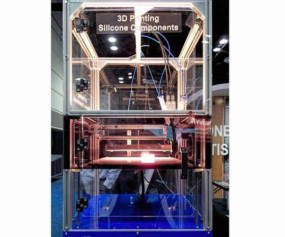 German RepRap liquid additive manufacturing (LAM) machine for 3D printing LSR