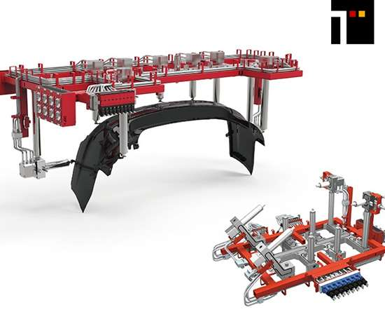 TagonAGV system and the Shuttle system from Yudo Inc.