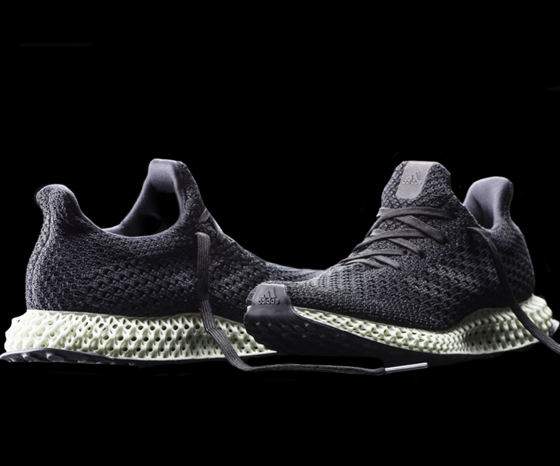 Adidas Futurecraft 4D shoe made with Carbon DLS technology