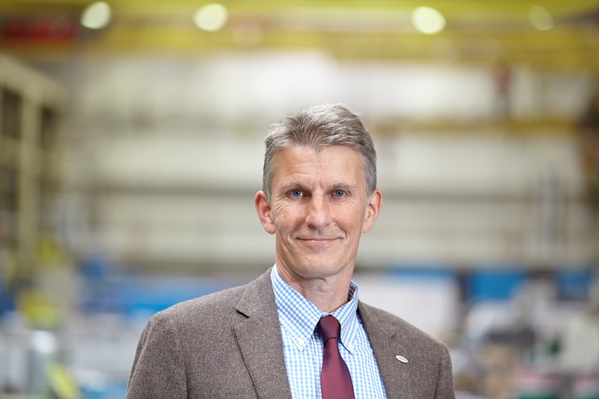 Ulrich Bartel, president, CoperionExtrusion and Compounding Division.