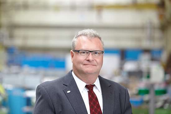 John Fisher, president, Coperion Equipment and Systems Division