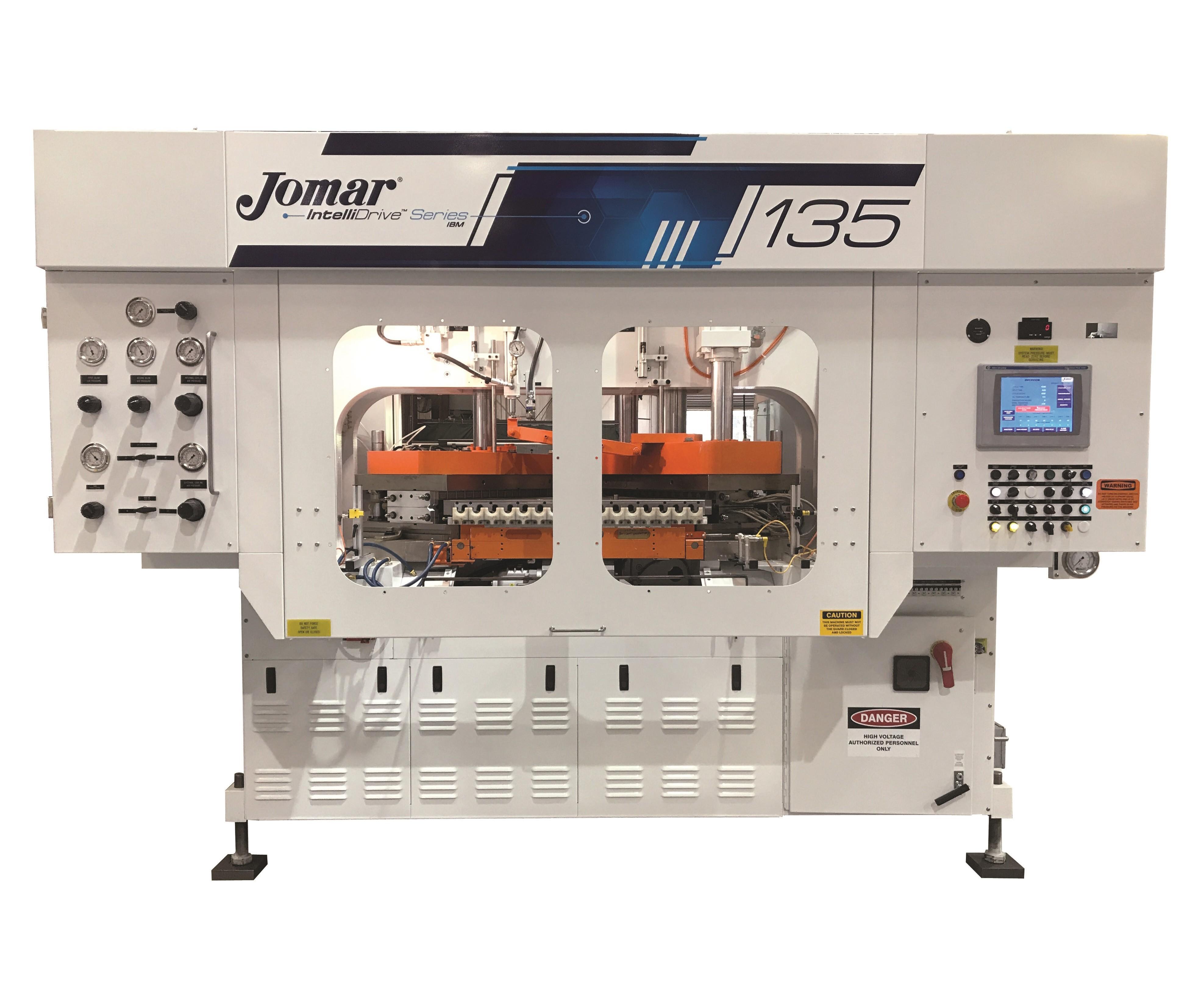 Jomar IntelliDrive 135 injection-blow molding machine