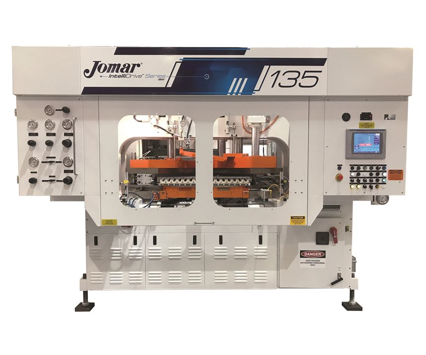 Jomar IntelliDrive 135 injection-blow molding machine