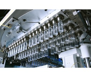 Nissei ASB stretch-blow molds 20,000 PET bottles per hour on the new ASB-150DPX