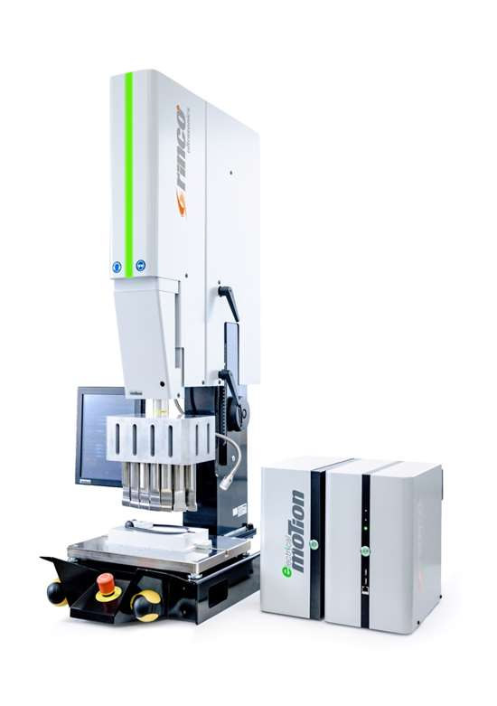 Rinco Electrical Motion ultrasonic welding machine