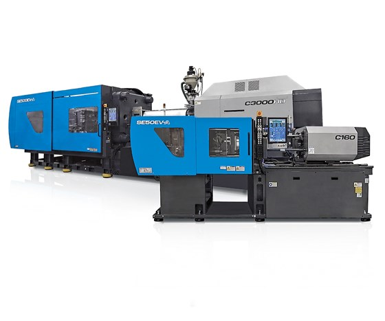 Sumitomo (SHI) Demag all-electric SEEV-A injection molding machines