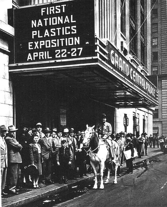 The first National Plastics Exposition - 1946
