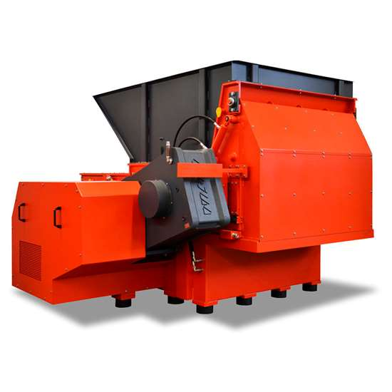 Weima recycling shredder