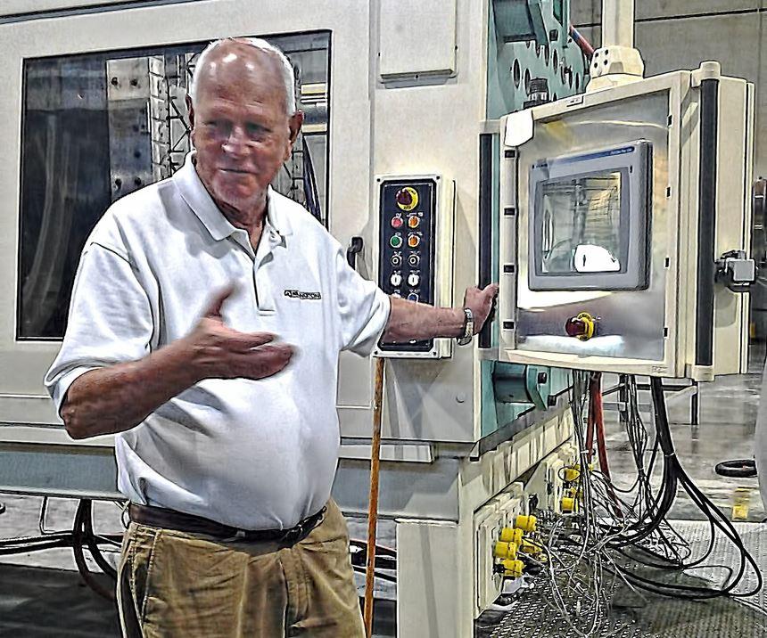 Russ La Belle, president of Wilmington Machinery