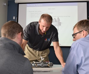 David Hoffman director/instructor American Injection Molding Institute