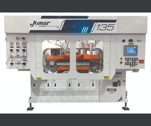 Injection-Blow Machines with Energy-Saving Servo-Hydraulics