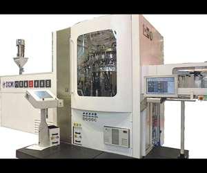Sacmi compression blow forming (CBF) system.