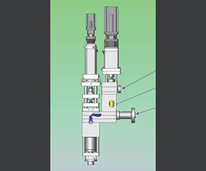 W. Muller's foam coextrusionhead for blow molding.