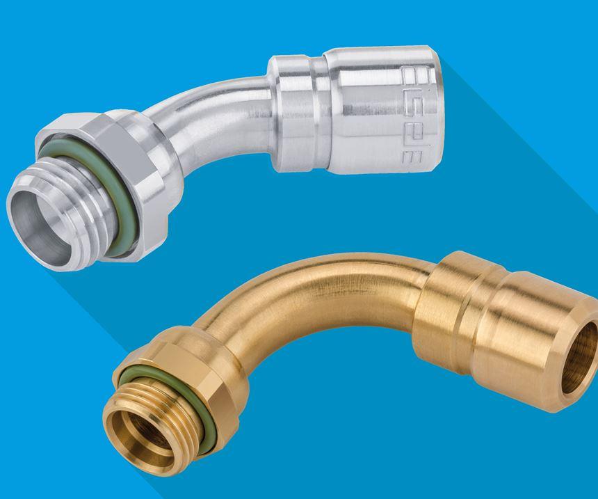 Eisele Connectors screw-in elbows