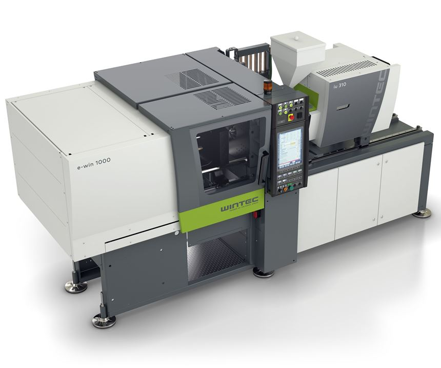 Engel Wintec e-win all-electric injection molding machine