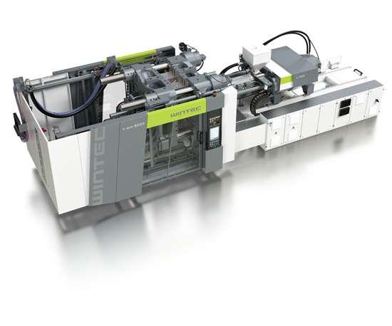 Engel Wintec t-win servo-hydraulic toggle injection molding machine