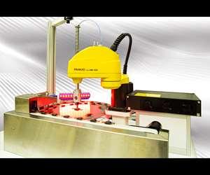 Fanuc SR-3iASCARA robot.