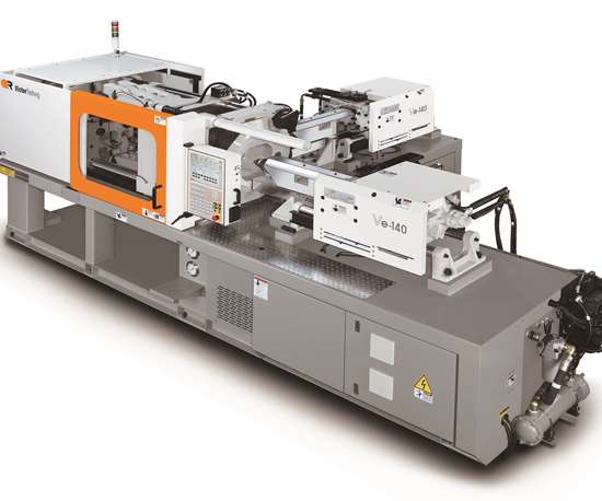 Fortune Victor Taichung Rc series two-shot injection molding machine.