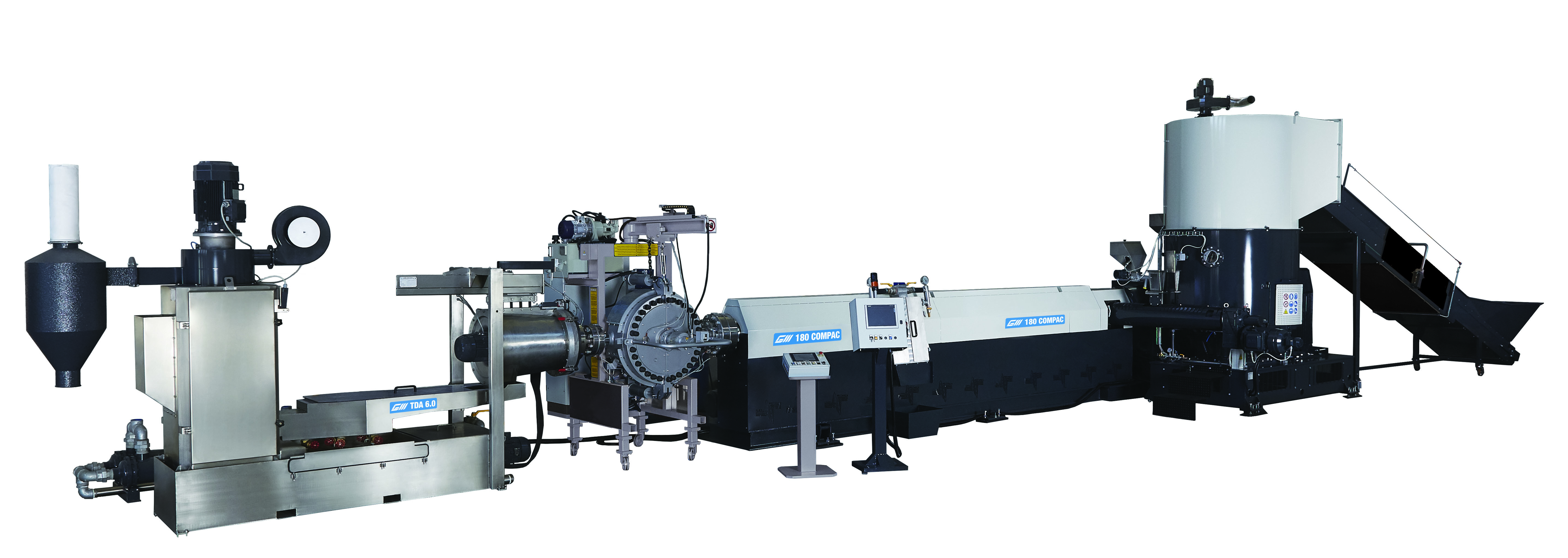 Gamma GM180 extrusion line.