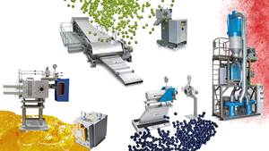 Wide Range of Products for Extrusion, Compounding