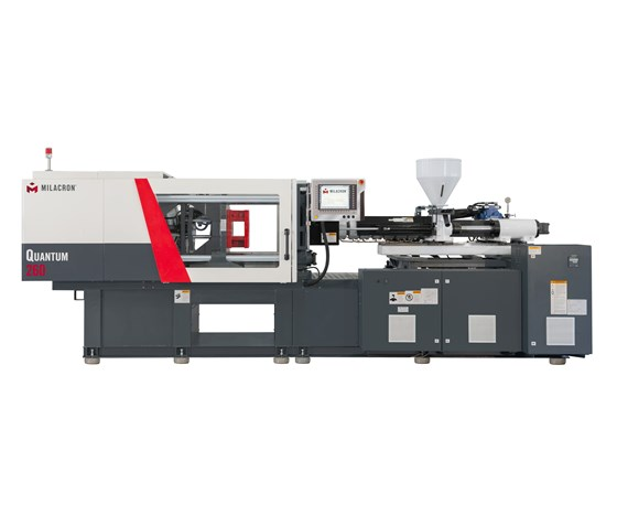 Milacron Quantum toggle-clamp injection molding machine
