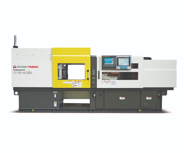 Milacron-Fanuc Roboshot 140 molding LSR