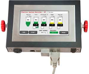 Plastrac touch-screen controller