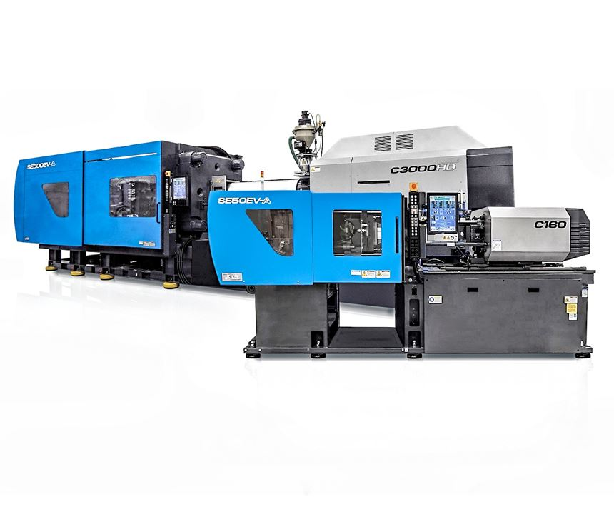 SumitomoDemag SEEV-A all-electric injection molding machine
