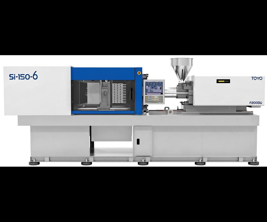 Toyo Si-150-6 injection molding machine