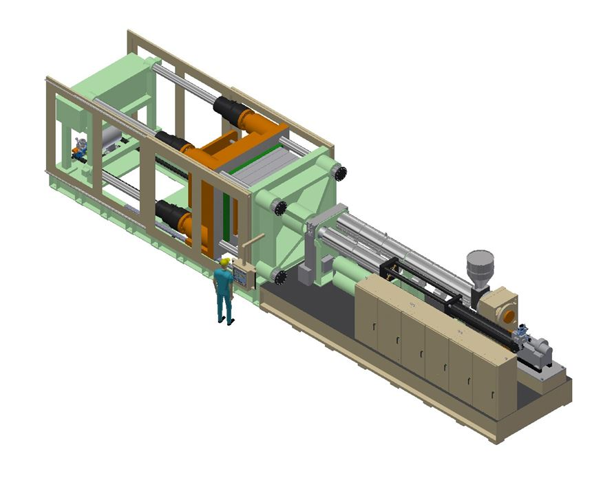 Wilmington's two-stage MP800 injection molding