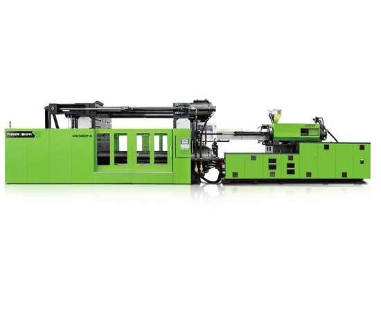 Yizumi DP-N line of two-platen, servo-hydraulic presses