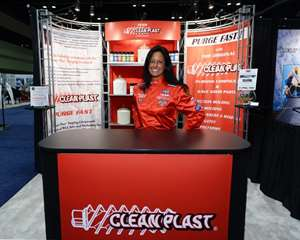 Rochelle Lemieux, president of Clean Plast Purge Compounds