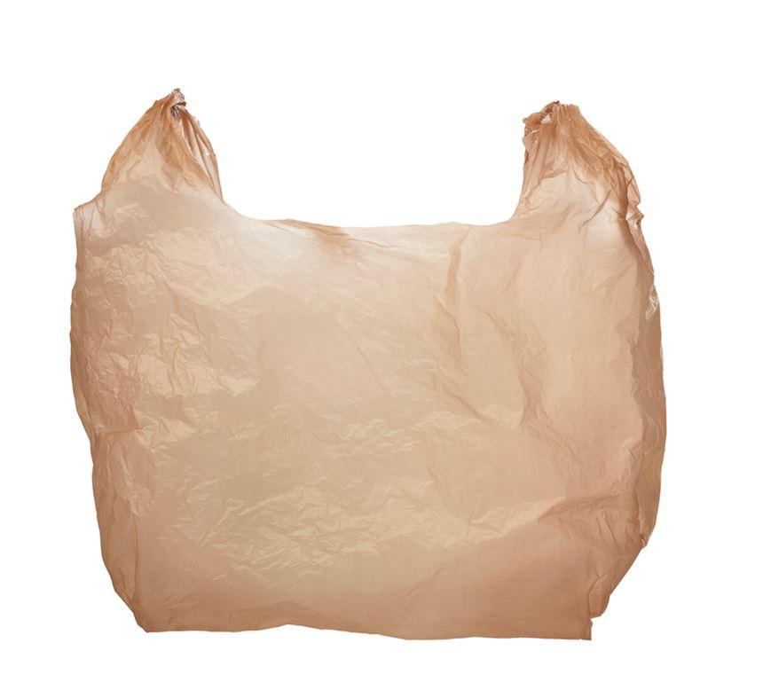 Plastic grocery bag