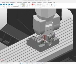 Autodesk Powermill screenshot.