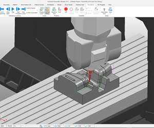 Autodesk Powermill screenshot.