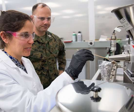 US military 3D printing