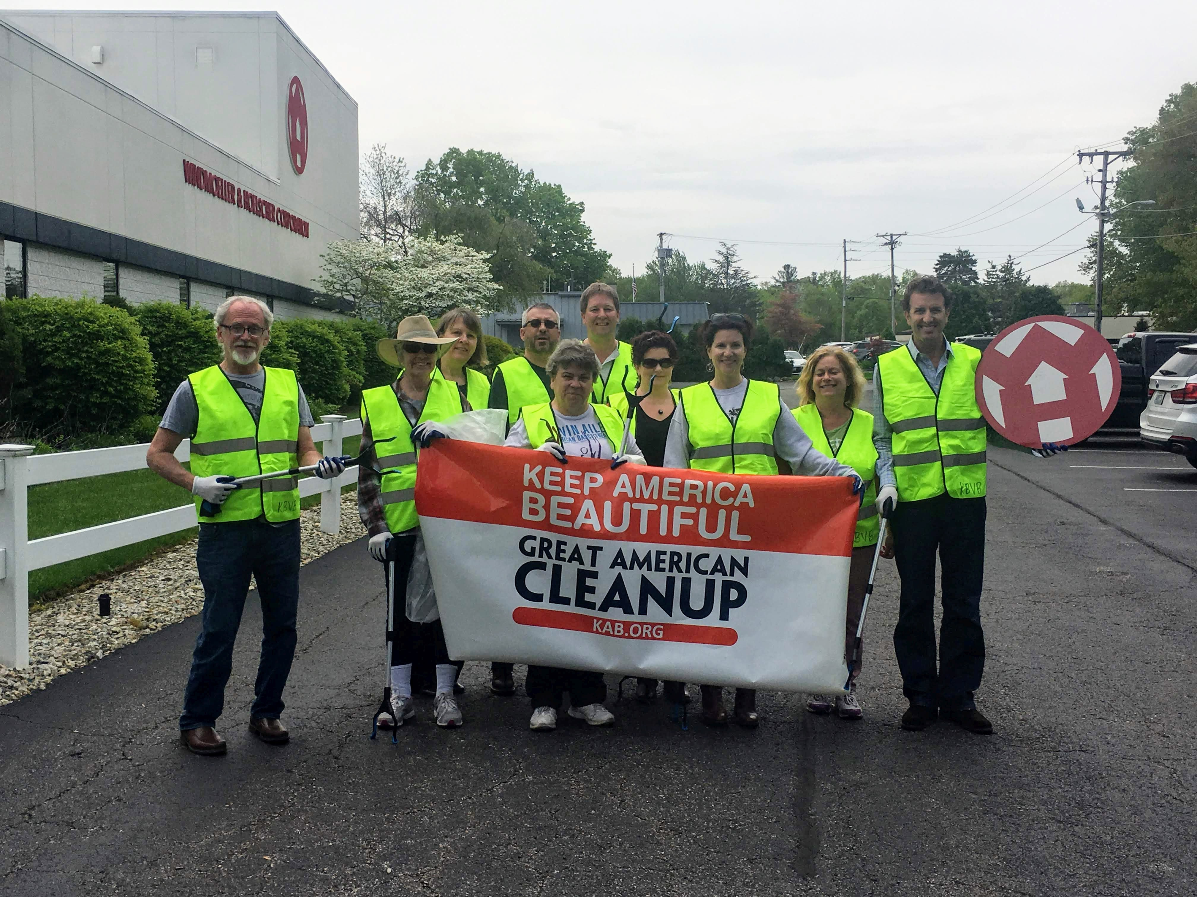 W&H Lincoln, Rhode Island Litter Clean Up