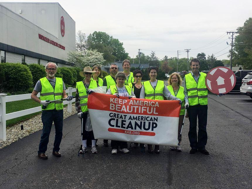 W&H Lincoln, Rhode Island Litter Clean Up
