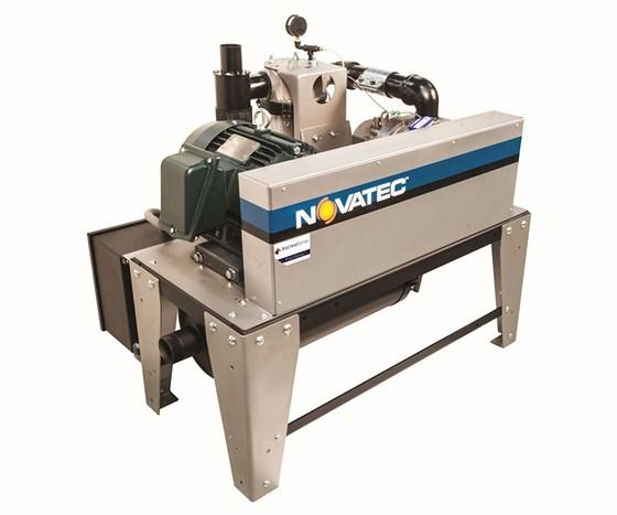 Novatec PumpSense vacuum pump with MachineSense