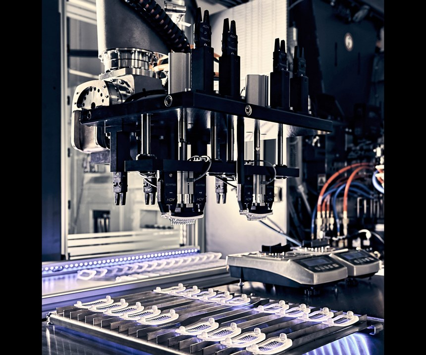 ACH Solution also provides automation systems for LSR molding.