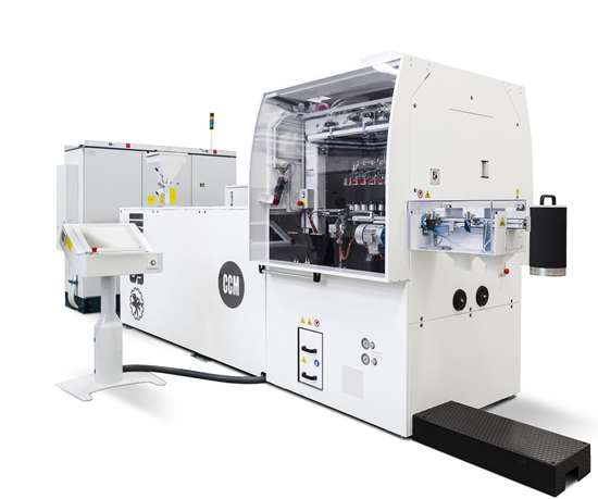 SACMI CCM systems offer fast cycles and individual control of each mold cavity.