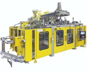 Bekum EBlow 407DL all-electric shuttle blow molder