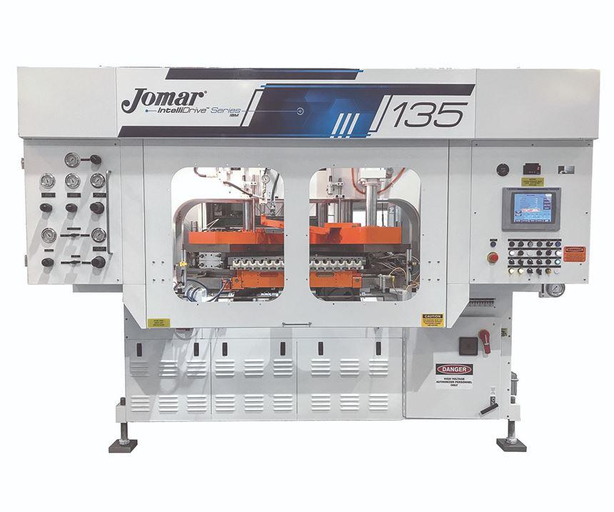 Jomar IntelliDrive injection-blow molder
